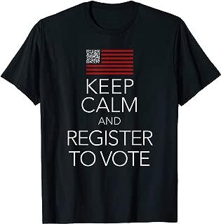 Best register to vote shirt qr code Reviews