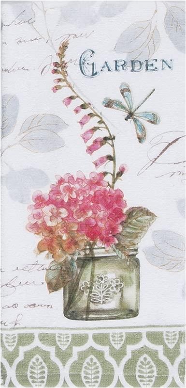 Kay Dee Designs My Journal Flower Garden Terry Towel