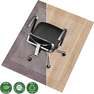 Office Marshal Chair Mat for Hard Floors | Eco-Friendly Series Chair Floor Protector |..