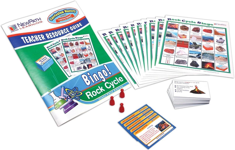 descuentos y mas NewPath Learning Rock Cycle Bingo Juego, Grade 5-9 5-9 5-9  Nuevos productos de artículos novedosos.