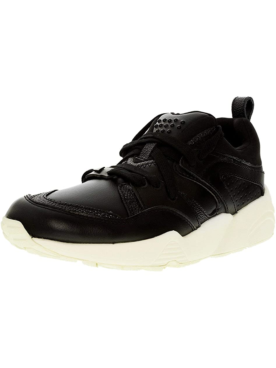クラッシュテレビ警報PUMA Womens Blaze of Glory Decor Low Top Lace Up Leather Running Sneaker