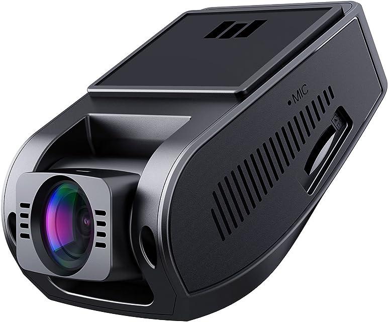 AUKEY Dashcam Full HD 1080P Cámara para Coche 170° Grados de Amplio Ángulo con Detección De Movimiento Visión Nocturna G-Sensor Loop de Grabación 1.5 LCD Pantalla (DR02)