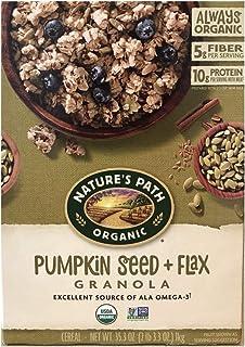 NATURE'S PATH ネイチャーパス パンプキン フラックス グラノーラ (オーガニック食品) 1kg Nature's Path Organic Pumpkin Flax Plus Granola, 35.3 Ounce...