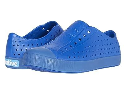 Native Kids Shoes Jefferson (Little Kid) (Victoria Blue/Transparent) Boy