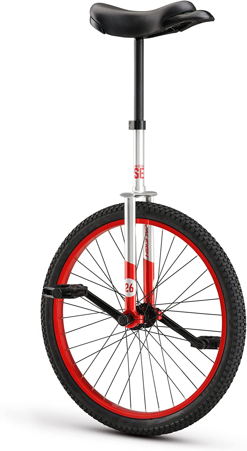Unistar SE 26, 26inch Wheel Unicycle, Red