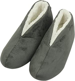 Forfoot Women's Slippers Spring Warm Plush Non Slip Slip on Indoor Boots House Shoes