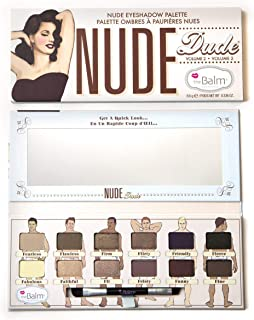 The Balm Nude Eyeshadow Palette Dude