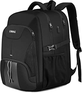 Extra Large Backpack for Men 50L,Durable Travel Laptop Backpack Gifts for Women Men with USB Charging Port,TSA Friendly Bi...