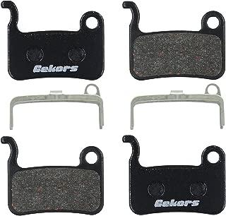 Gekors Semi-Metallic Bicycle Disc Brake Pads for Shimano/Tektro/TRP