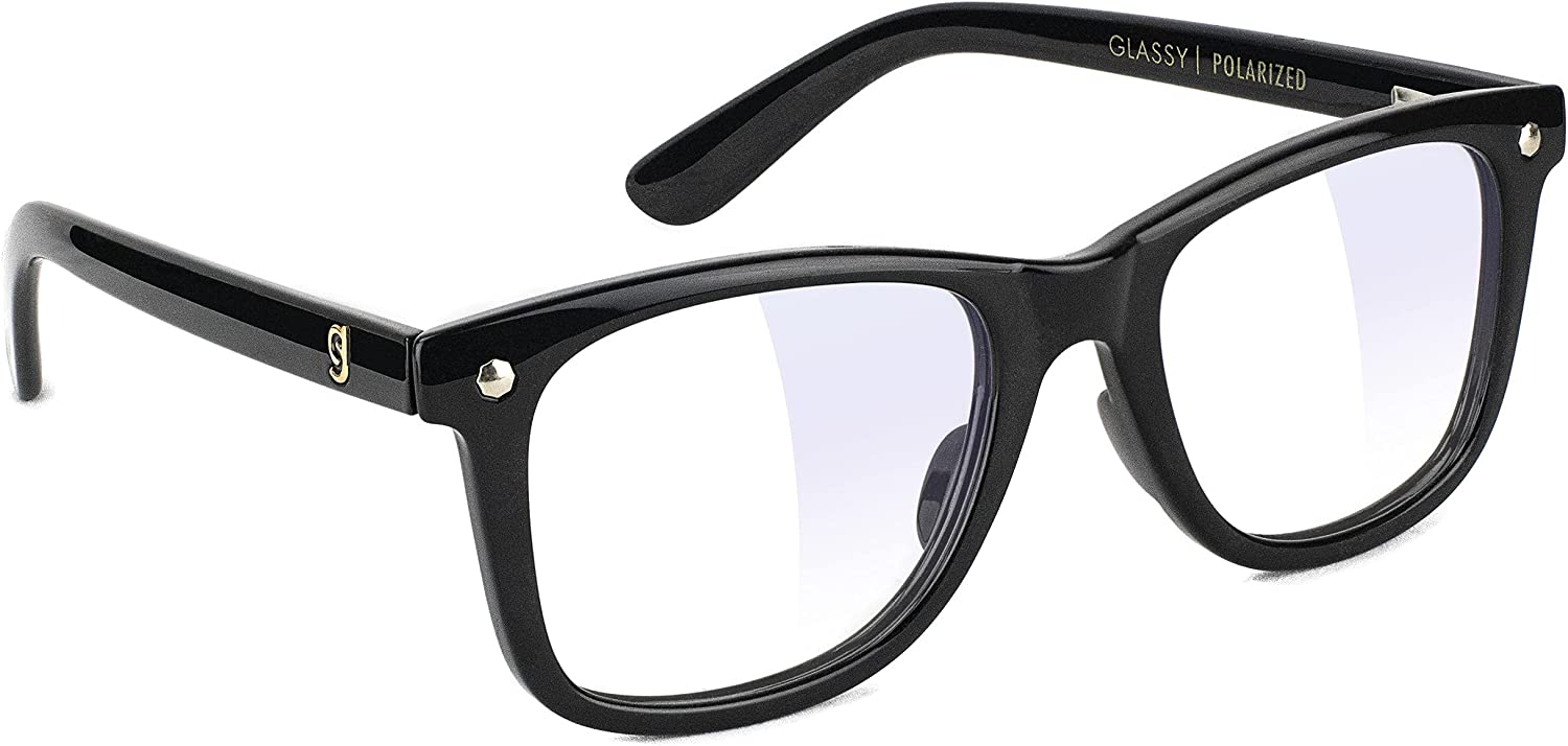 GLASSY Mikemo Premium Blue Light Blocking Glasses, Anti Eyestrain and fatigue, Glasses for Computer and Gaming