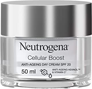 Neutrogena Face Day Cream, Cellular Boost, Anti-Ageing Moisturizer SPF 20, 50ml
