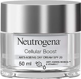 نيوتروجينا، كريم للوجه، تعزيز للخلايا، SPF20 كريم نهاري مقاوم للشخوخة بوقاية، 50 مل