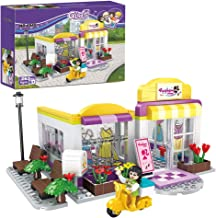 BRICK STORY Girls Building Blocks Toys Clothing Studio Shop Building Kits Construction Bricks Sets Building and Play Toy for Kids 263 Pieces 4542