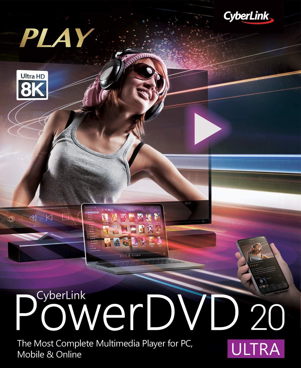 Max 59% OFF Max 68% OFF CyberLink PowerDVD 20 Download PC Ultra