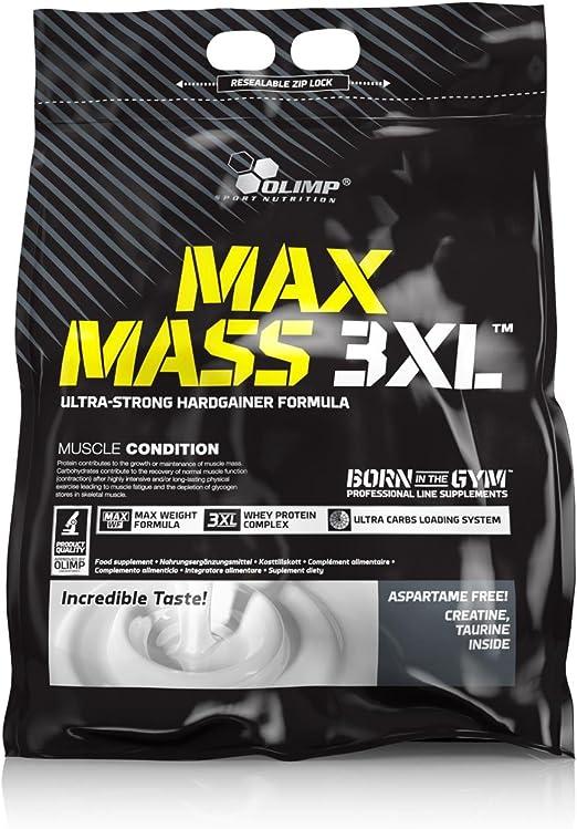 Olimp Sport Nutrition Ganador de Masa Muscular MAX Mass 3XL con Sabor Vainilla - 6 kg