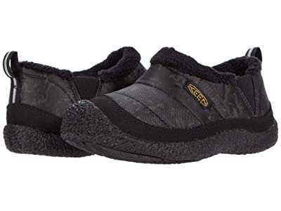 KEEN Kids Howser II (Toddler/Little Kid) (Black/Keen Yellow) Boy
