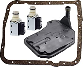 4L60E Shift Solenoid and 4L60E Transmission Filter Gasket kit for GM Chevrolet Buick Replace 24230298 24208576 by TOPEMAI