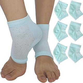 Moisturizing Cracked Heel Socks - Treat Dry Heels Fast Pain