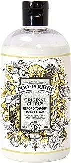 Poo-Pourri Before-You-Go Toilet Spray 16-Ounce Refill Bottle, Original + Free Poo-Pourri Before-You-Go Toilet Spray 4ml Travel Size Disposable Spritzer