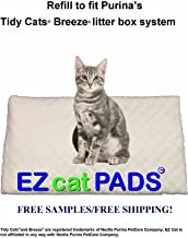 CHEAP 40 16.9x11.4 Litter Box Pads w//Infused Baking Soda Fits Popular Name Brand
