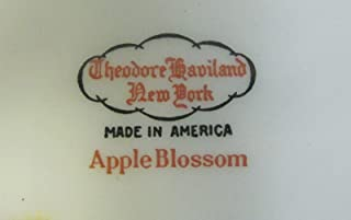 Theodore Haviland China APPLE BLOSSOM Bread & Butter Plate(s) Multiple Avail