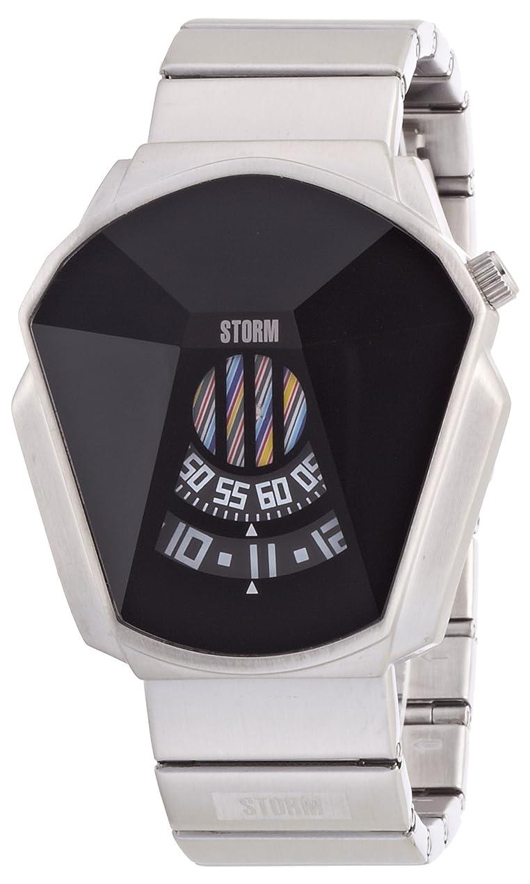 棚メトリック本[ストーム] 腕時計 47001BK 正規輸入品 シルバー