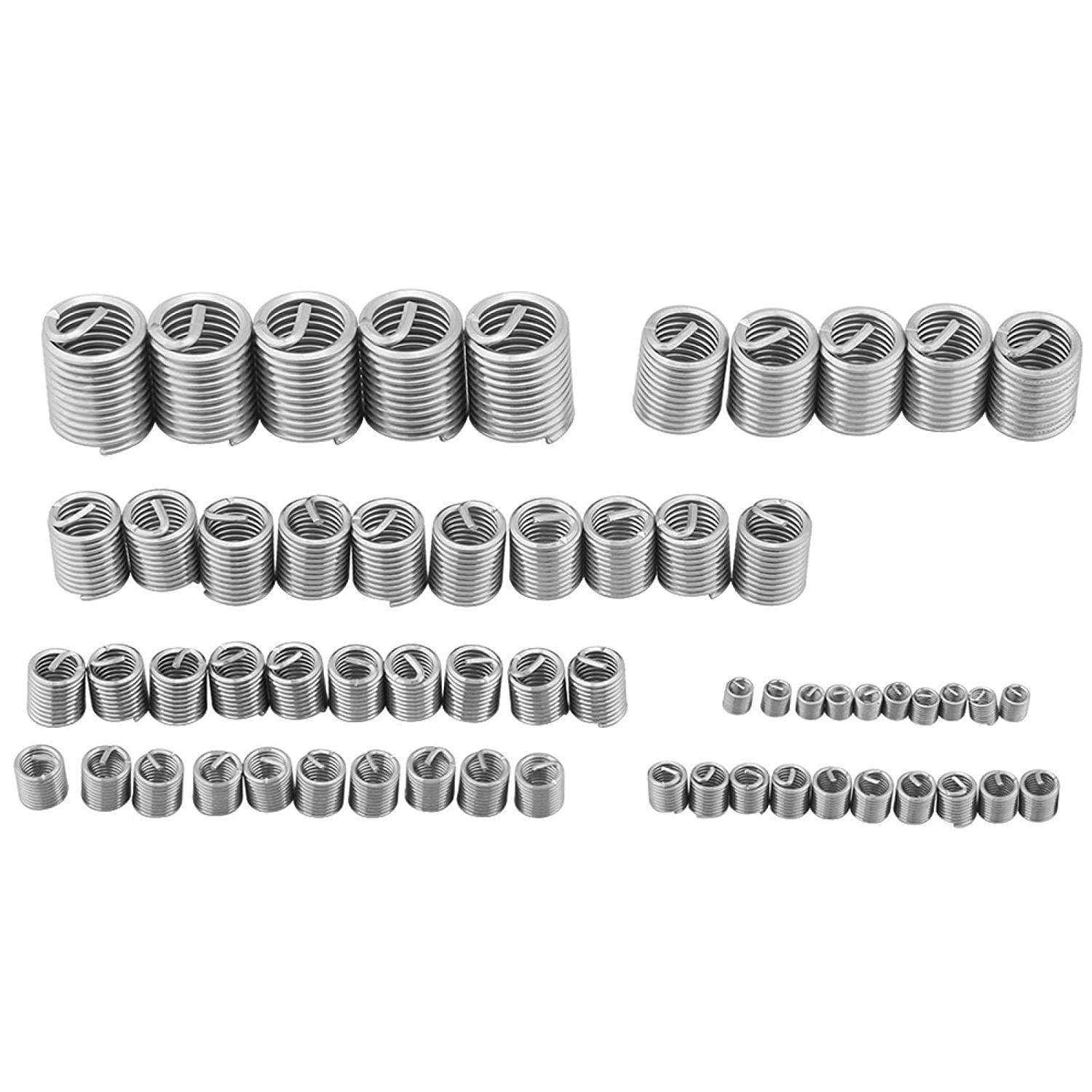 60pcs Stainless Year-end Soldering gift Steel Wire Insert Industrial Multi-Specif Thread