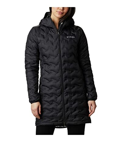 Columbia Delta Ridge Long Down Jacket (Black) Women