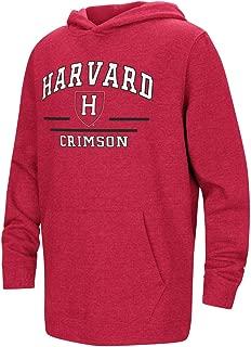 Harvard Crimson Youth NCAA Super Fan Hooded Sweatshirt - Team Color