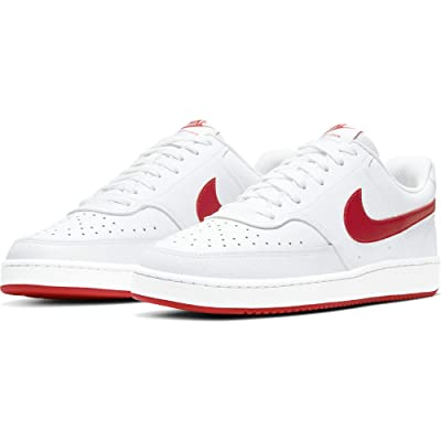 Nike Court Vision Lo (White/University Red) Men