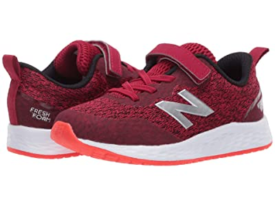 New Balance Kids Fresh Foam Arishi v3 Bungee (Infant/Toddler) (Neo Crimson/Neo Flame) Boys Shoes