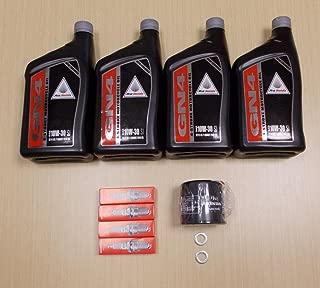 New 2004-2009 Honda VTX 1300 VTX1300 OE Basic Oil Service Tune-Up Kit