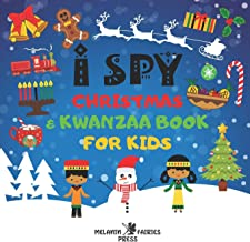 I Spy Christmas & Kwanzaa Book For Kids: African American Toddlers Little Black Girls & Boys: A Fun Guessing Activity Puzz...