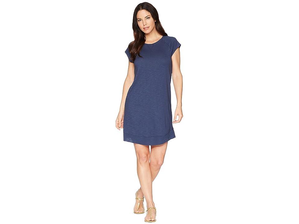Lilla P Curved Hem Dress (Ink) Women