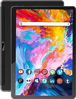 タブレット10.1インチデュアルWiFi 5Gwifi 2.4Gwifi1920*1200IPS FHD 8コアCPU Android 9.0 32GB+128GB拡張可能6000mAhバッテリー タブレットPC タブレットWiFiモデル Bl...