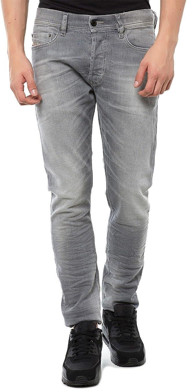 Diesel mens stretch jeans 0839N Max 54% OFF Omaha Mall grey TEPPHAR