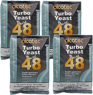Alcotec 48 Hour Turbo Yeast, 135g (4 Packs)