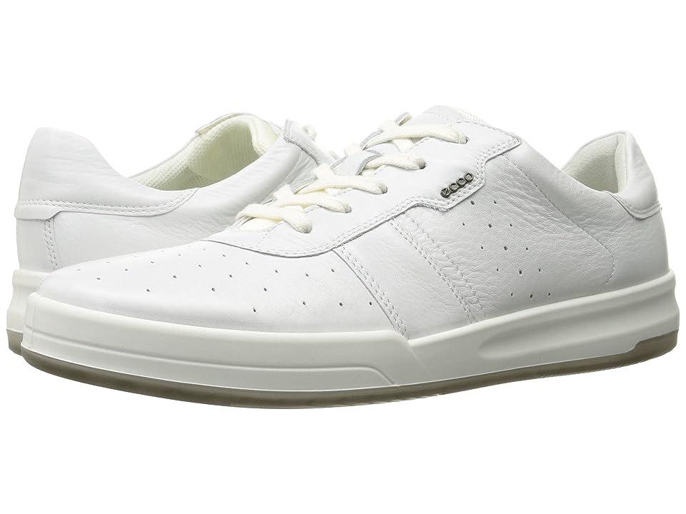 ECCO Jack Retro Sneaker (Bright White) Men