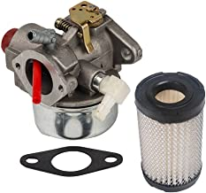 HIFROM 640339 Replace Carburetor with Gasket 35066 Air Filter for LEV90 LV148EA LV148XA LV156EA LV156XA Engines