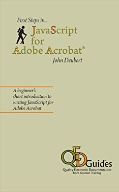 First Steps in JavaScript for Adobe Acrobat