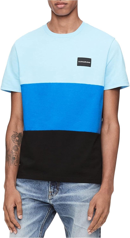 2021 new Calvin Klein Men's T-Shirt Institutional wholesale Logo