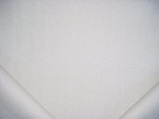 368RT15 - Natural White 100% Solution Dyed Acrylic Outdoor / Indoor Marine Strie / Pinstripe Designer Upholstery Drapery Fabric - By the Yard