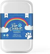 Pet Casket - 2 Colors - Pet Loss Memorial Burial Casket for Dogs, Cats, Gifts (Medium, White)
