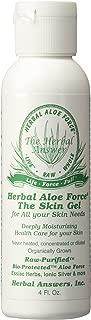 herbal answers whole raw aloe vera skin gel