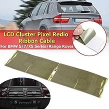 9x4cm Track Dead Pixels Repairs Ribbon Cable For BMW E39 E38 E39 E53 X5 Mid Raido Pixel Repair LCD Instrument Cluster Dashboard
