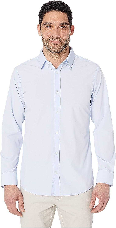 Max 79% Sale item OFF Mizzen + Main Leeward Formal Mens Fit Slim Down Button D Stretch
