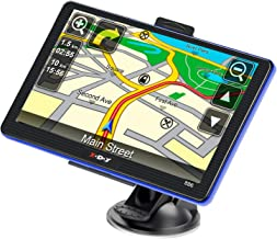 GPS Navigation for Car Truck Lifetime Maps Update Car Navigator Touchscreen 7 Inch 8G 256M Navigation System with Voice Guidance and Speed ??Camera Warning Driver Alerts
