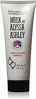 Alyssa Ashley Musk H&B Lotion Triple  Action, 8.4 fl. oz.