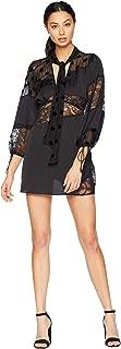 for Love and Lemons Women's Rosalyn Paneled Mini Dress