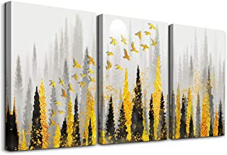 3 piece Framed Canvas Wall Art for Living Room family bathroom Wall decor modern kitchen Bedroom Decoration Abstract landscape painting inspiration posters pictures Wall Artworks for home walls